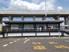 ●JR越前花堂駅  帰りは、JR越前花堂駅へやって来ました。