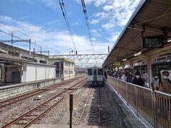 ★13:00 高崎駅からコンスタントに上越線に乗り換え。
