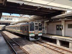渋川駅までは20分強で到着します。