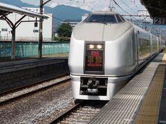 昼食をスーパーで調達した後、渋川駅から特急草津に乗車。