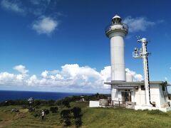 青い空に灯台が映えます。 ここが日本最西端の地なんですね。