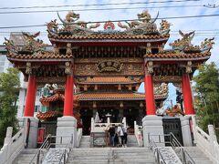 昼食後は関帝廟へ。ここには関聖帝君が祀られています。