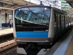 根岸線、横浜からは東急東横線に乗り換え帰路につきました。