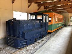 森林鉄道機関車。   映画「飢餓海峡」(昭和40年)のロケでも使用されました。 全長3.58m、全幅1.42m、全高2.03m。
