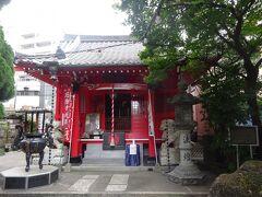 源覚寺(1624年建立。本尊は阿弥陀如来です。本堂は1979年に再建) 小さなお寺ですが、色々な謂れがあるお寺でした。