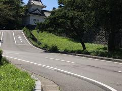 青葉城がみえてきました。