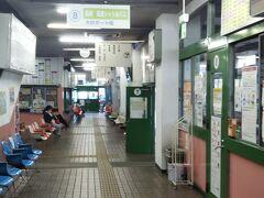 バスターミナルに向かってコインロッカーに荷物を預ける。試合終了後はここから長崎空港に向かいます。