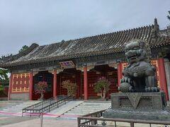 やってきたのは世界遺産、颐和园。シーサーがお迎え。
