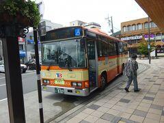 【その1】からのつづき  伊東線の伊東駅から、冷川峠を越えていく路線バスに乗って、修善寺駅に着いた。