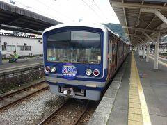 駿豆線を走っている電車は何種類かあるらしいけど、基本的に3両編成。