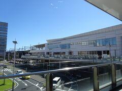 高崎駅で乗り換え。パスタの昼ごはん食べました。