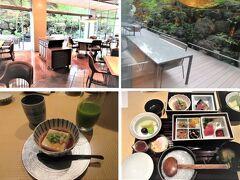 ◆リッツ京都◆ リッツの朝食は地下1階の水暉で。和食も洋食もいただけます。 ミツイと和食朝食の食べ比べをするので、和食をチョイス。 ミツイのクロワッサンの代わりにゴマ豆腐?おかゆの量はリッツが少ない。 焼き魚はサケの代わりにサバ、でした。朝食はリッツの方が美味しい。味噌汁も。 玉子はミツイがだし巻きだったと思いますが、リッツは温泉タマゴでした。