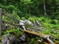 羊蹄山で濾過された雨や雪が、ミネラルを含んだ名水として湧き出るふきだし公園。