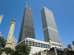 ウォータータワーとジョン・ハンコック・センター