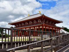 興福寺 中金堂。 最近復元されたもの。