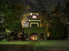 尾山神社の神門のステンドグラス部分は夜の方が綺麗です  金沢散策の後編まで目を通して下さりありがとうございました^^
