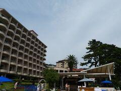 河津を抜けて1時間くらいのドライブ。 今井浜東急リゾートへやってきました。