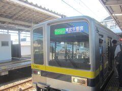 以前は新栃木行でしたが、現在はダイヤが変わり、日中の接続電車は宇都宮線直通で東武宇都宮行となっているようです