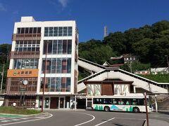 上野原駅 河岸段丘に立地する特異な駅です。