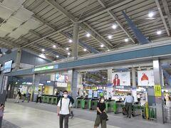 今更ですが、横浜発にしておけばよかったかも 旅の始まりは品川駅
