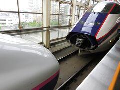 福島駅 つばさ切り離し はやぶさで一気に行くのも良いですが、のんびりするのも旅です