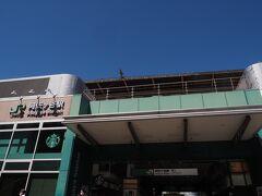 阿佐ヶ谷駅です。ランチをここで。