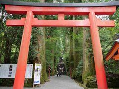 11:08 箱根神社へ到着  駐車場は第一駐車場へ止められました。 でも、その後満車に... 人多いのかな...と覚悟して行ったら