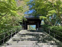 さて、国宝好きの僕としては、ハズせない円覚寺へ。北鎌倉方面は初訪問です。