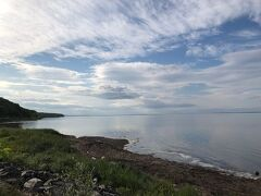 そして内陸からオホーツク海側のサロマ湖へ