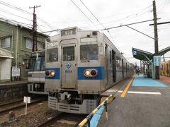 2021.09.05 北熊本 北熊本で乗りかえ。営団と都営が顔を合わせ…