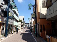 戸越銀座商店街のはじの方にきました。