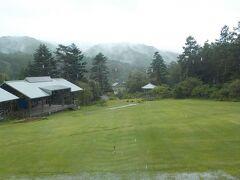 さっきよりは、雨が落ち着いたみたい。そろそろ名古屋に向かいます。