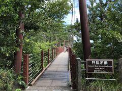 門脇つり橋。