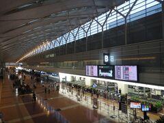 羽田空港 第2ターミナル。