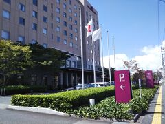 ANAクラウンプラザホテル米子に宿泊です。  これらの写真は昼間に撮りました(;´∀`)