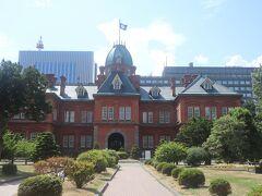 北海道庁旧本庁舎 東京オリンピックマラソンでは構内がコースでした