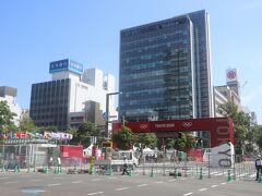 大通は東京オリンピックのマラソンのスタートゴール地点