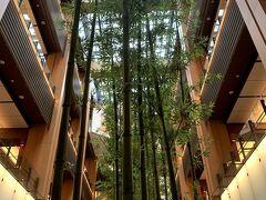 東京ミッドタウンの竹アートが、吹き抜け全体に聳え立っていて見事だったわ。