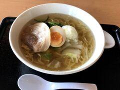 ヘルシーテラス佐久南で食べたラーメン(チャーシュー麺)