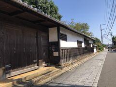 亀山宿散策 加藤家屋敷跡  緊急事態宣言中は閉館