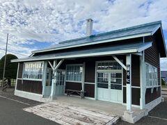 古里館から5分ほどで岩内線幌似駅跡を訪問。