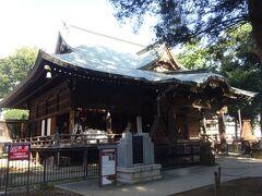 雑司ヶ谷鬼子母神堂(本堂)(1561年、雑司の役にあった柳下若狭守の家臣が鬼子母神像を掘り出して、祀った事が始まりです。羽衣をまとい、角の無い優しい像であったと言います。安産・子安の神様となっています。)