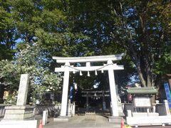 雑司ヶ谷大鳥神社(鷺明神として1712年創建)