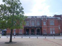 明治45年築の赤レンガ建築。旧門司税関。