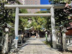 三吉神社を通り越して更に北上し