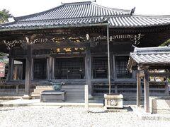 関宿散策 地蔵院本堂  本堂・鐘楼・愛染堂の3棟は国の重文