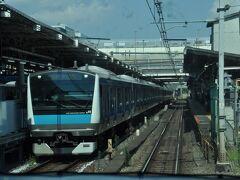 間もなく上野駅到着