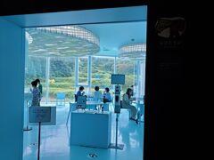 時間があまり有りませんが、作品を見る前に「里山食堂」でお昼ご飯を食べます。
