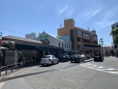 鎌倉駅の北口へ来ました。。 鶴岡八幡宮から小町通りを出て地下道で北口へ。。
