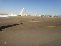 羽田空港 着陸。  午前 11:10